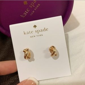 Kate Spade Sailor Knotted Earrings
